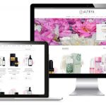Webdesign - Website foto Alteya Organics