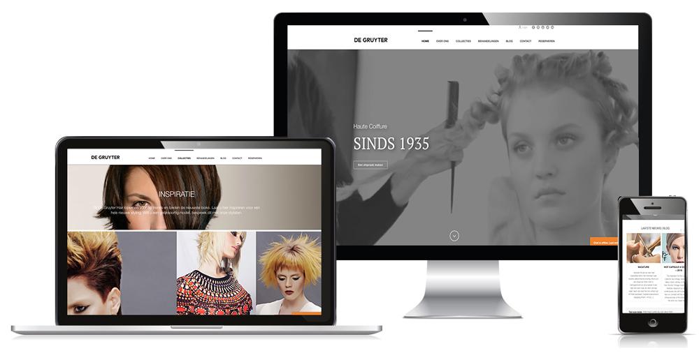 Webdesign - Webfoto Hans de Gruyter